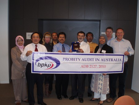 The Ciptanet Course conducted for the Indonesian BPKP Government auditors in Australia during 2010 provided a comprehensive overview of probity auditing practices.